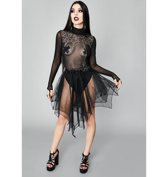 Widow Spin A Tale Mesh Top