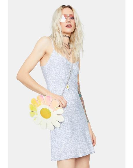 Peaking Patty Floral Slip Dress