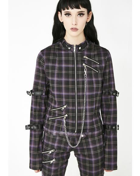 Tartan Roz Zip Jacket