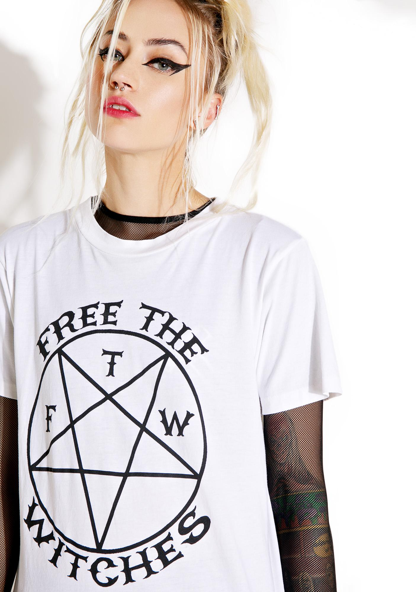 Local Boogeyman Free The Witches Tee