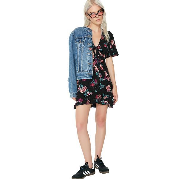 Floral Garden Skater Dress