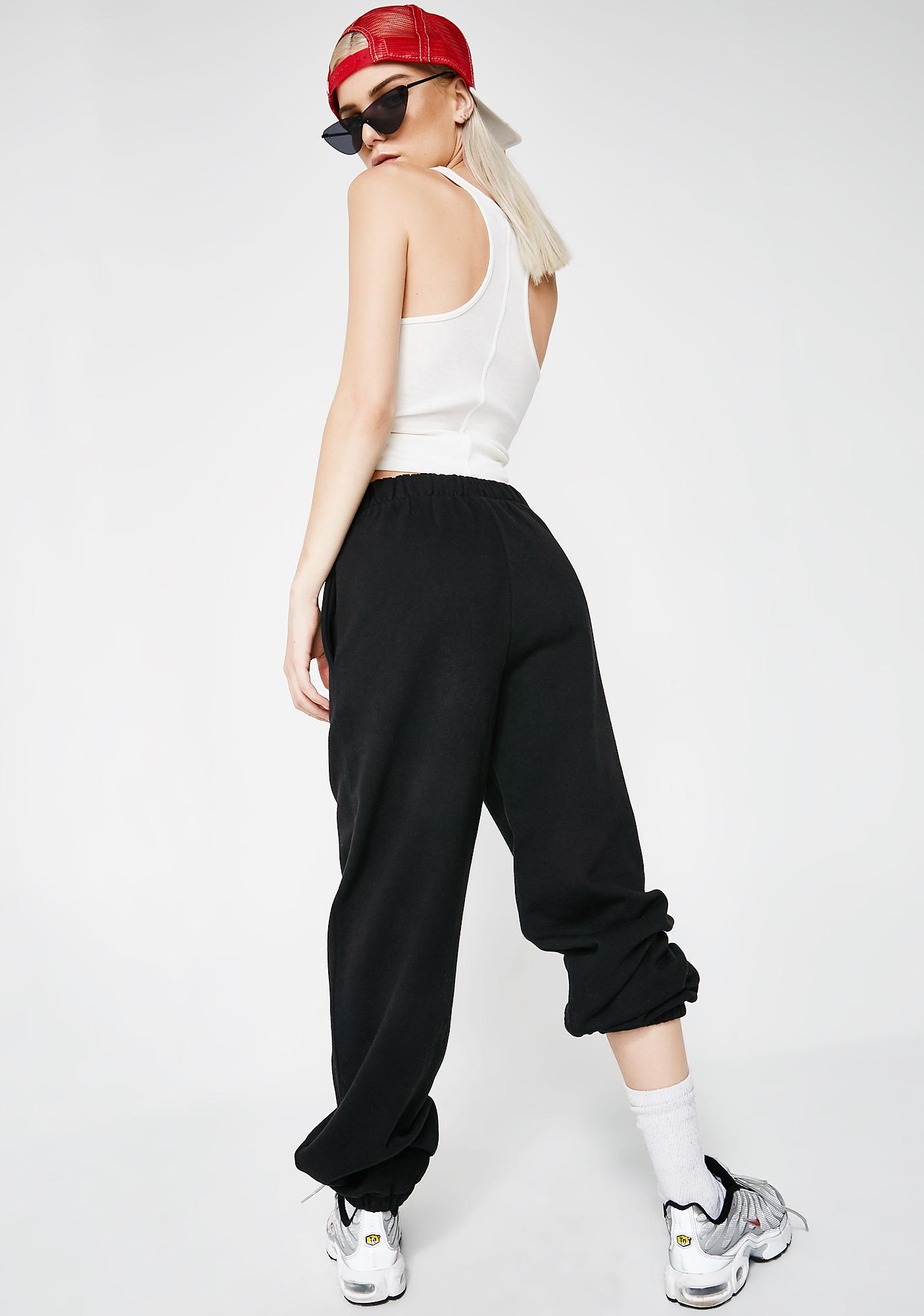 JUICY COUTURE Onyx Logo Pants