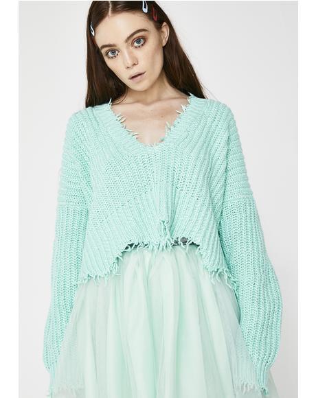 Aqua Diver Palmetto Sweater