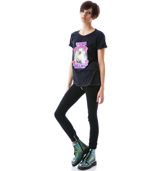 Local Celebrity Tiger At Heart Schiffer Tee