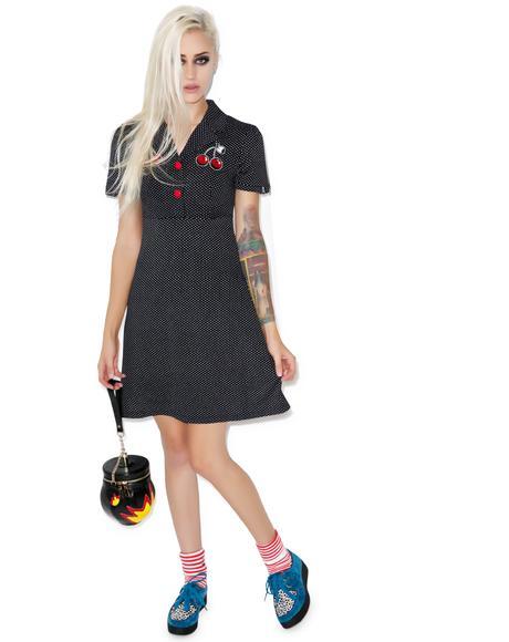 Cherries Rosie Dress