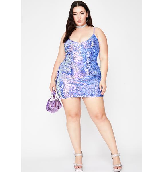 Divine Pixie Forever Extra Sequin Dress