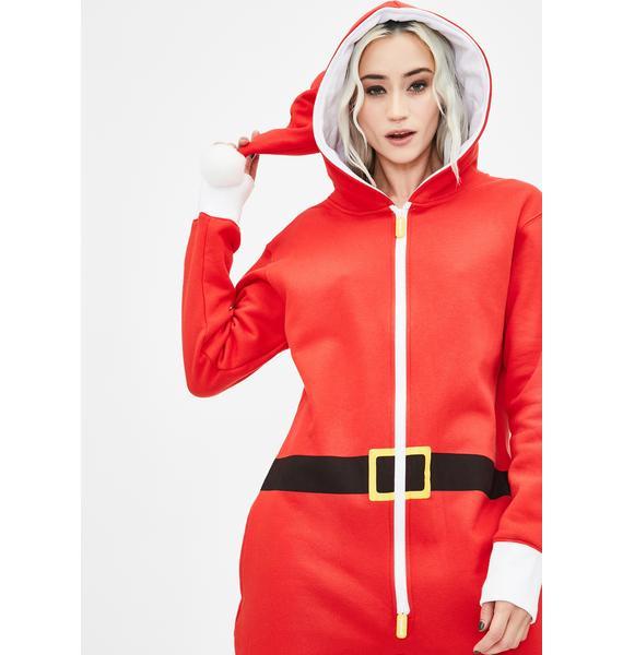 Tipsy Elves Santa Pajama Jumpsuit