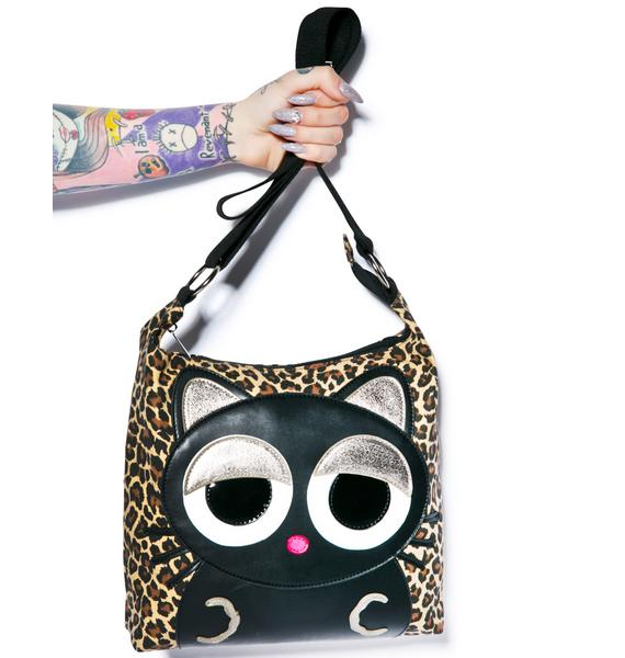 Lazy Cat Shoulder Bag