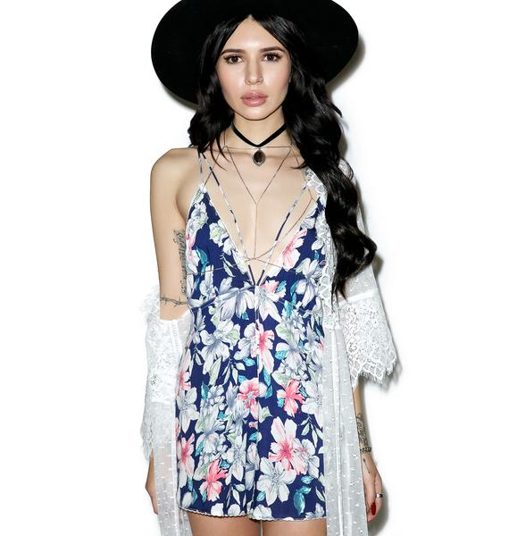 Give Me Flowers Romper