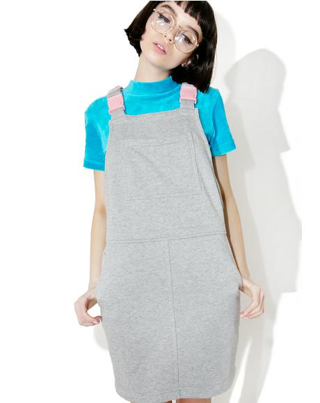 Clippy Dungaree Dress