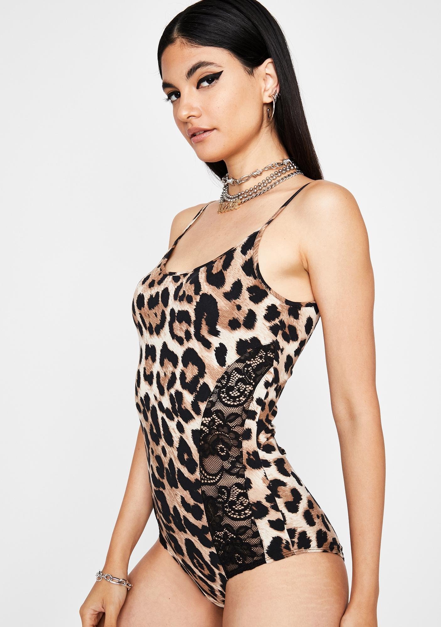 Follow Ur Instincts Lace Bodysuit