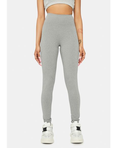 Charcoal Mountain Climber High Waisted Leggings