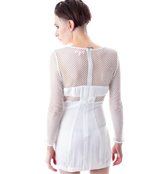 Nothing But Net Mesh Dress