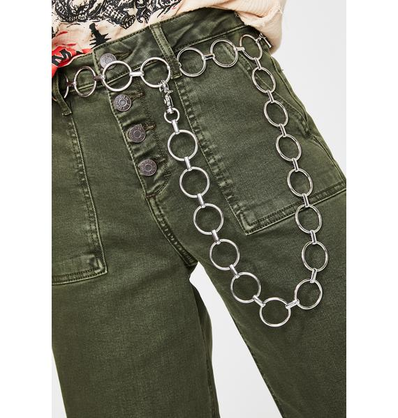 Oh Me Oh My Chain Belt
