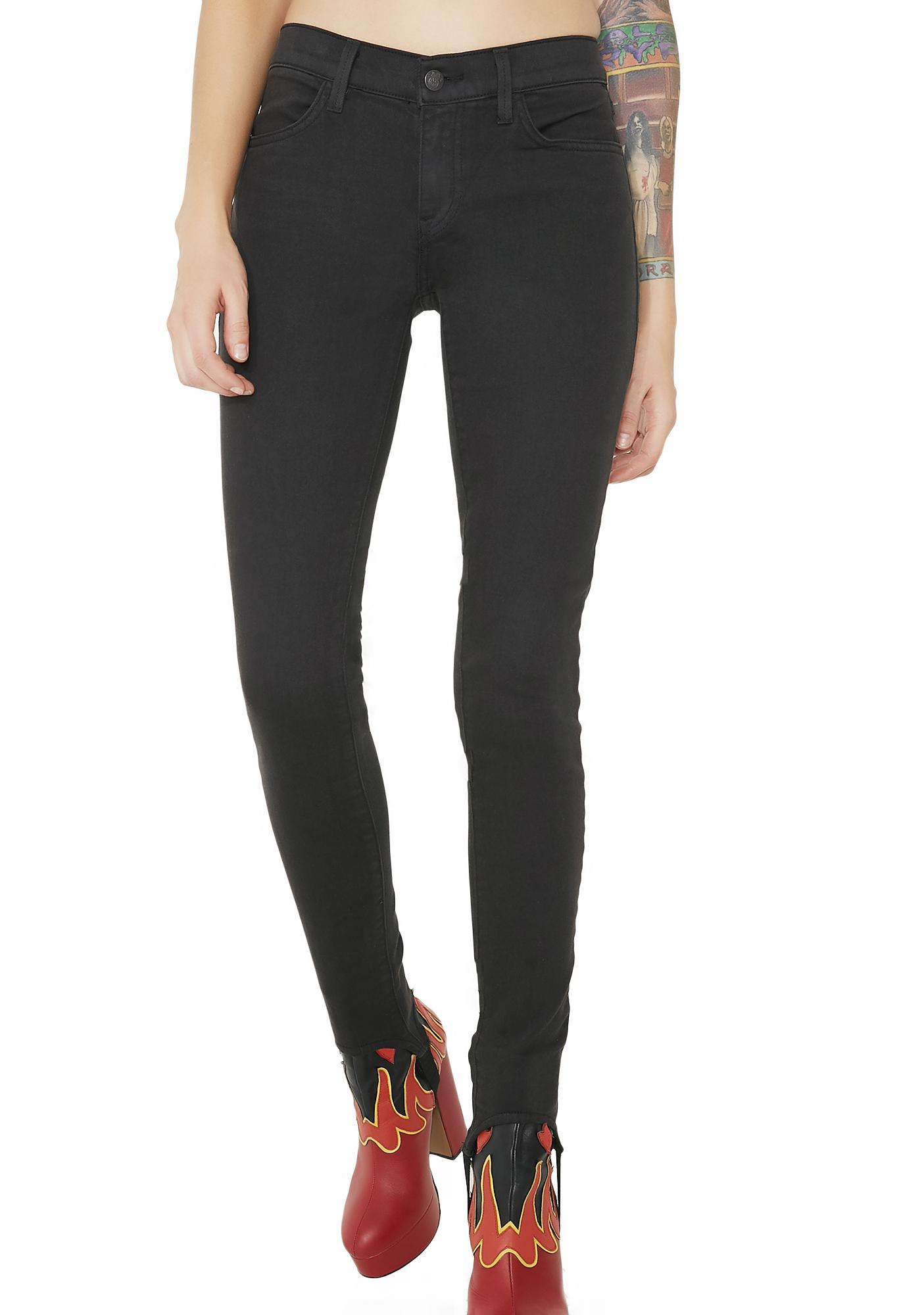 Wildfox Couture Sloane Skinny Stirrup Jeans