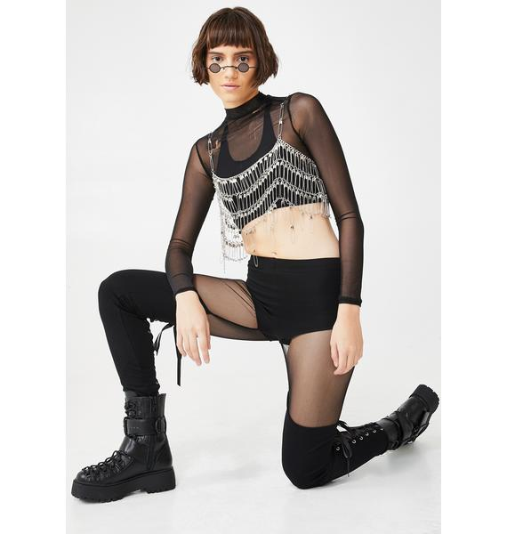 Widow Immortal Revolution Lace-Up Leggings