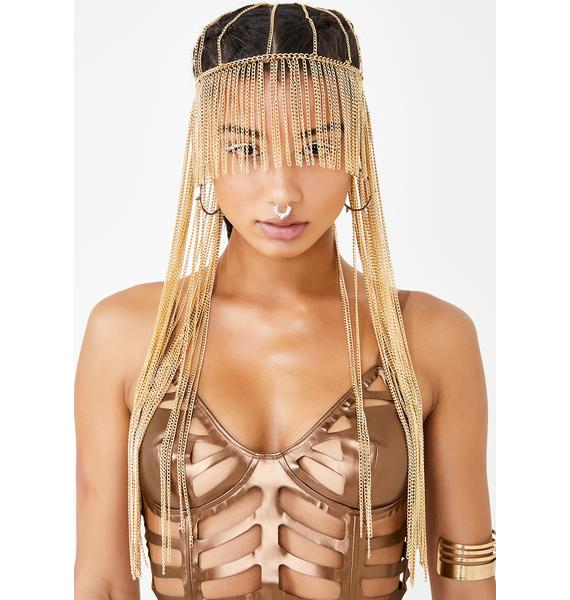 Liquefied Light Fringe Head Chain