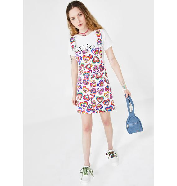 dELiA*s by Dolls Kill Love Out Loud Overall Dress