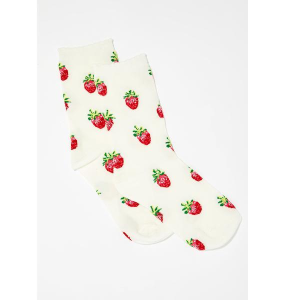Strawberry Shortcake Socks
