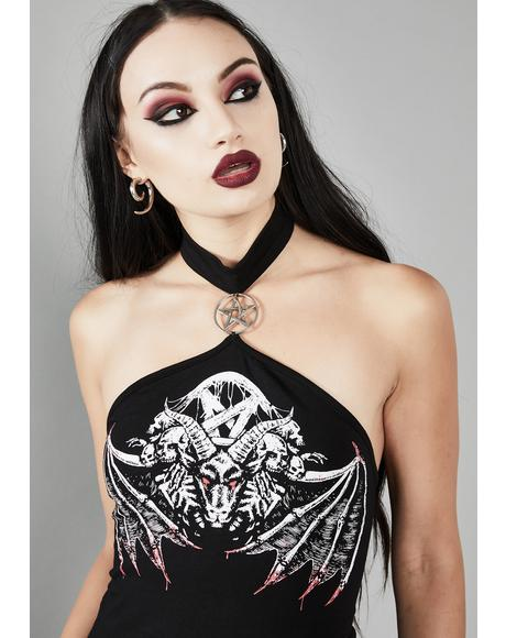 Nightwings Choker Top