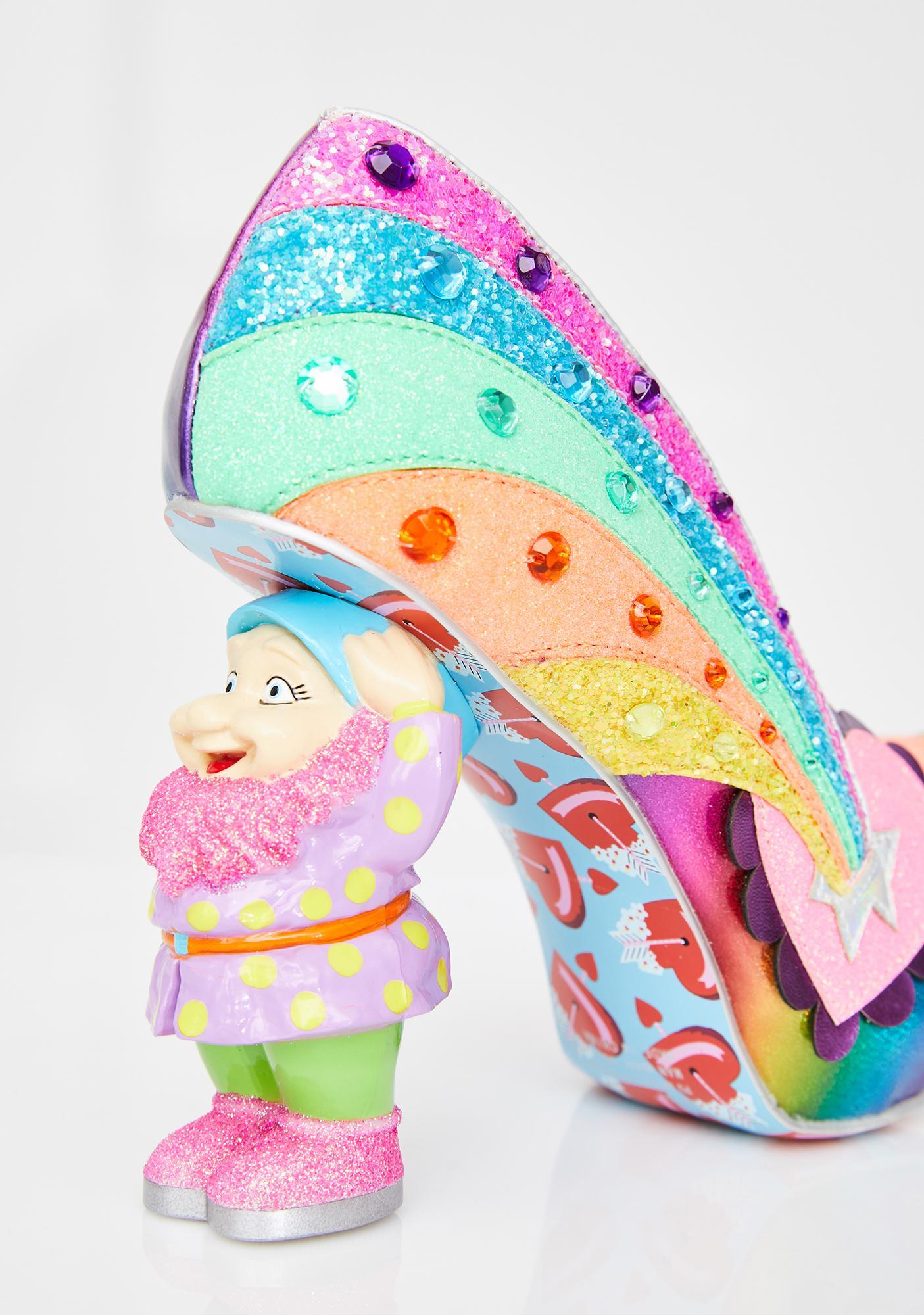 Irregular Choice I Just Gnome It Heels