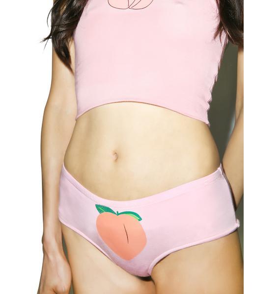 O Mighty Pink Peachy Booty Panties