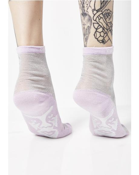 Orchid Downtown Socks