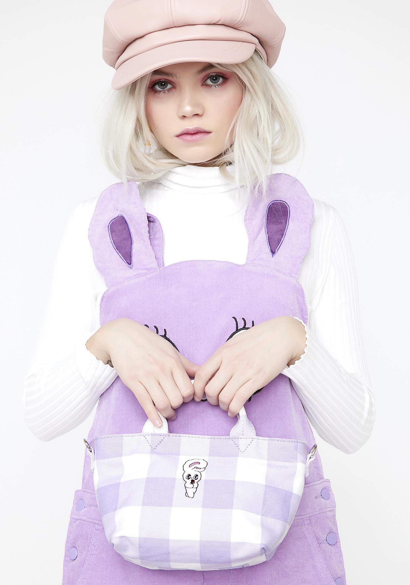 Lazy Oaf Checkmate Bunny Bag