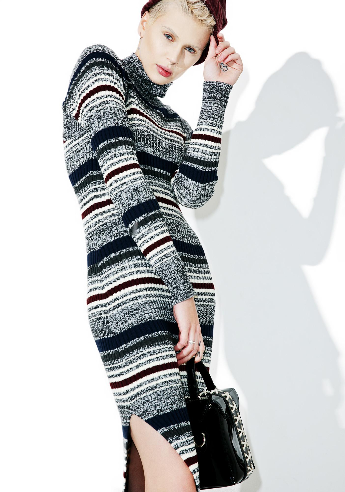 Obey Hanna Knit Dress