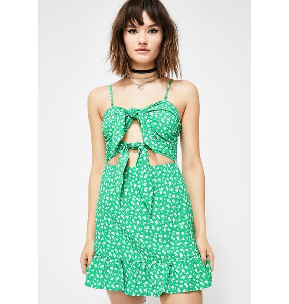 Double Shot Mini Dress