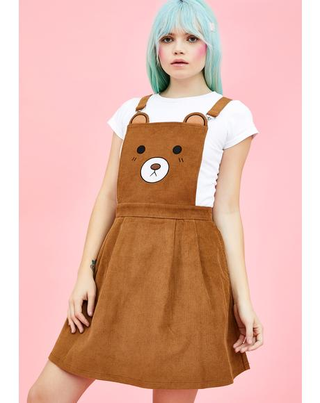BB Bear Pinafore Dress