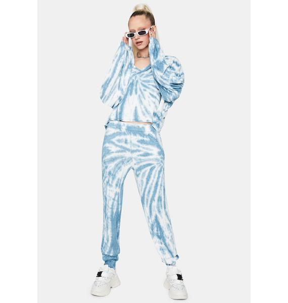 Sky New Fantasies Tie Dye Sweatpants