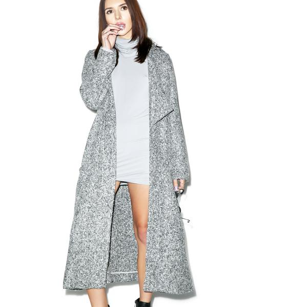 Somedays Lovin Shrubs Wool Duster Coat