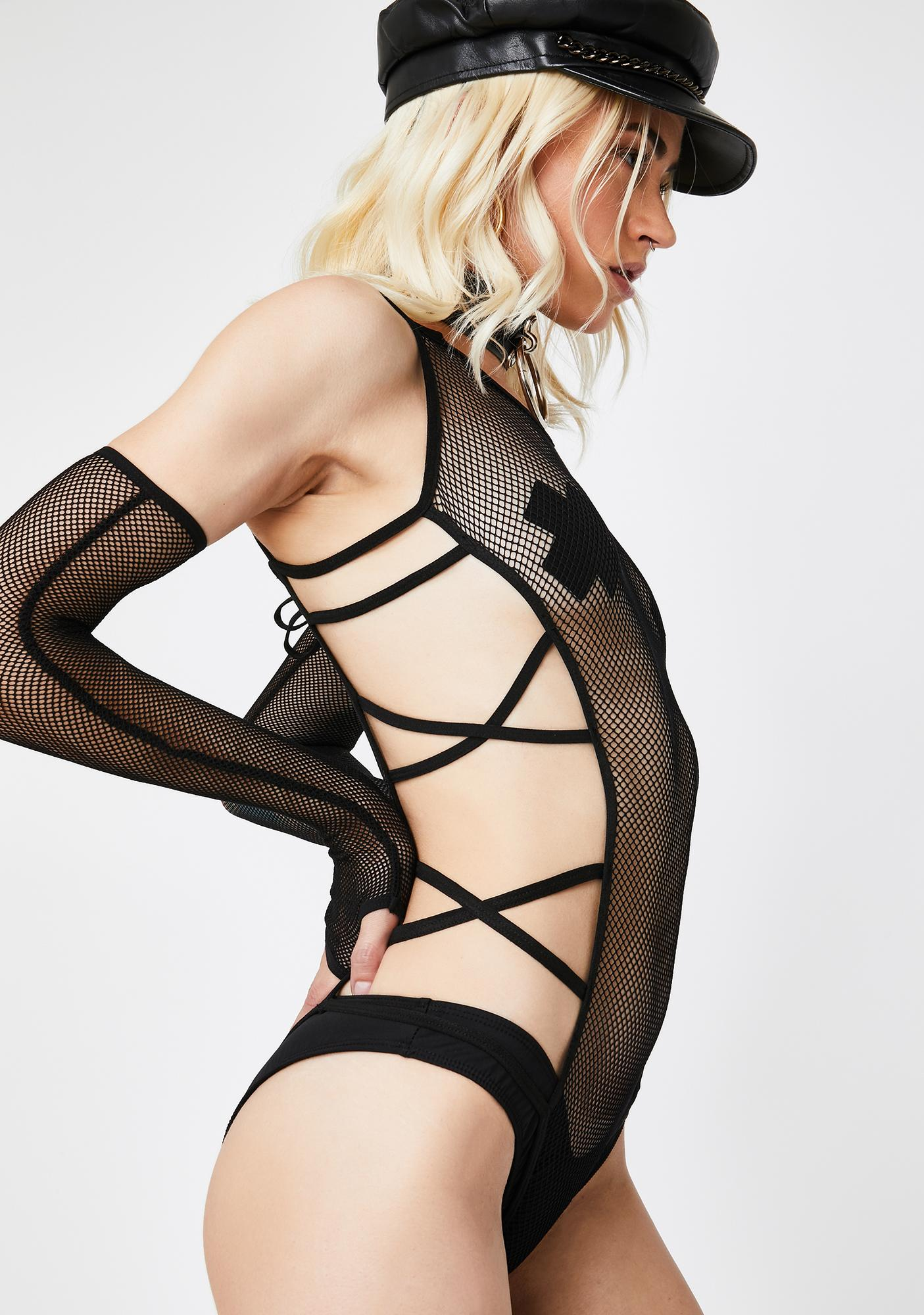 The Vixxen Strappy Bodysuit