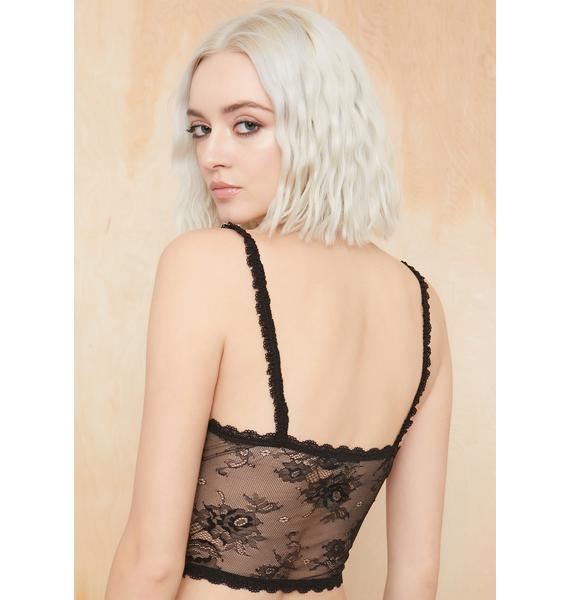 Current Mood Lost But Not Found Lace Cami