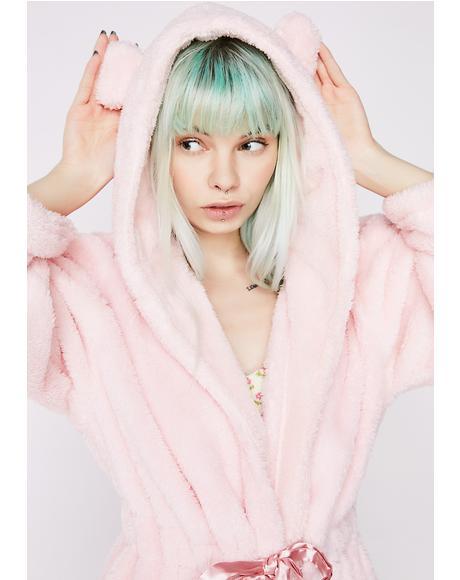Cuddly Cub Fluffy Robe