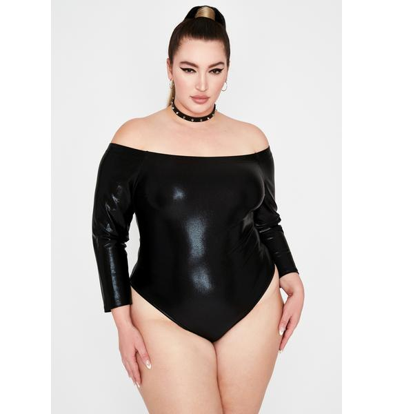 Miss Quicksilver Metallic Bodysuit