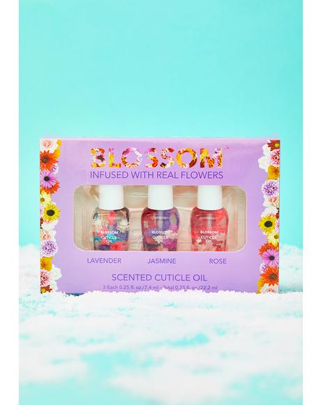 Scented Cuticle Oil Gift Set