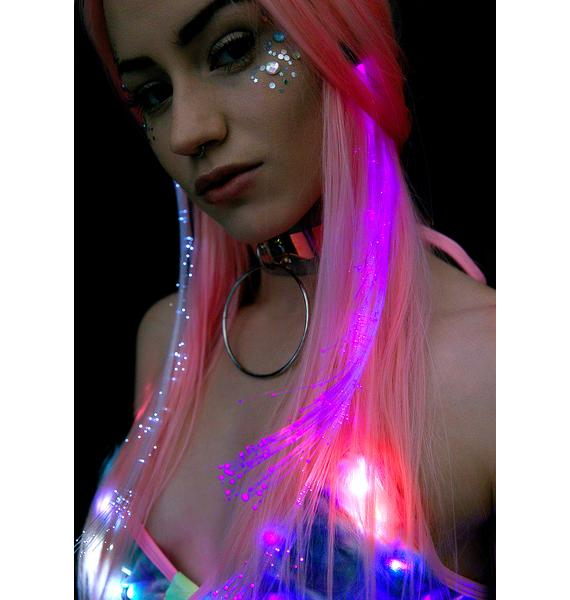 Prism Light-Up Hair Clip
