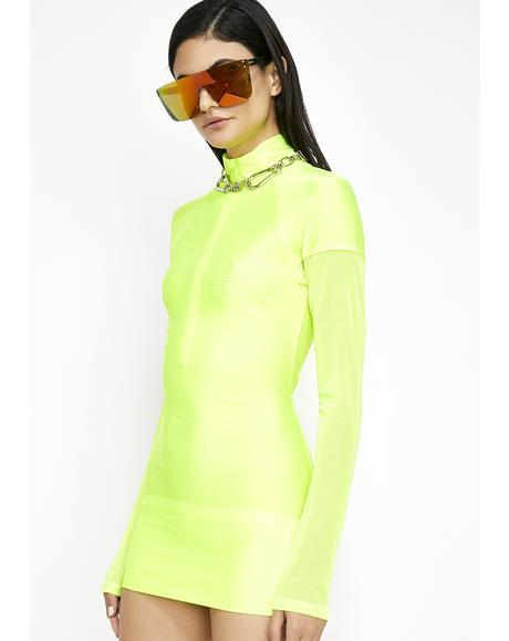 Space Age Bae Mini Dress