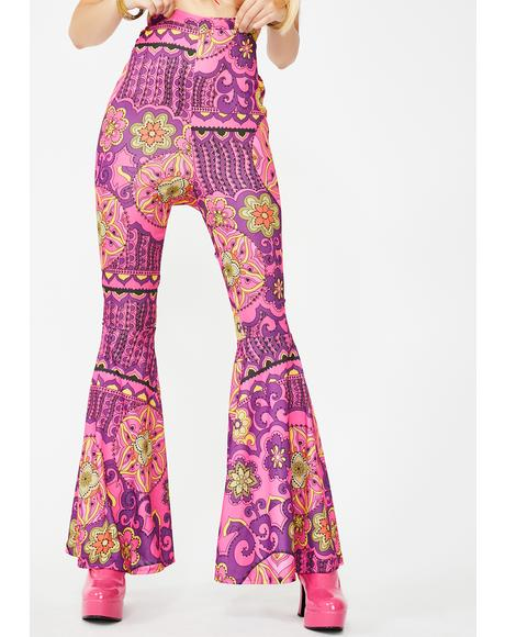 Peace Of Mind Flare Pants