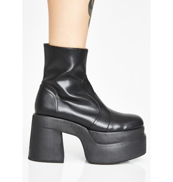 Current Mood Klub Kidd Platform Boots