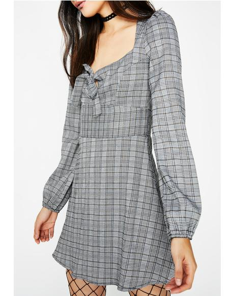 Advanced Course Plaid Dress
