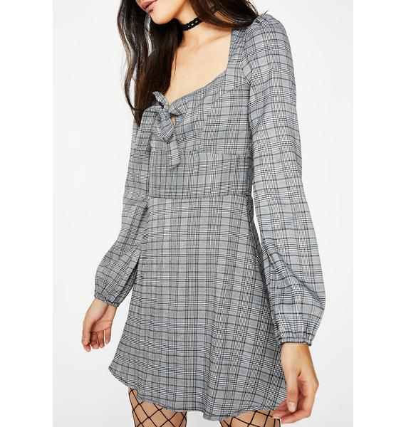 Advanced Course Plaid Dress