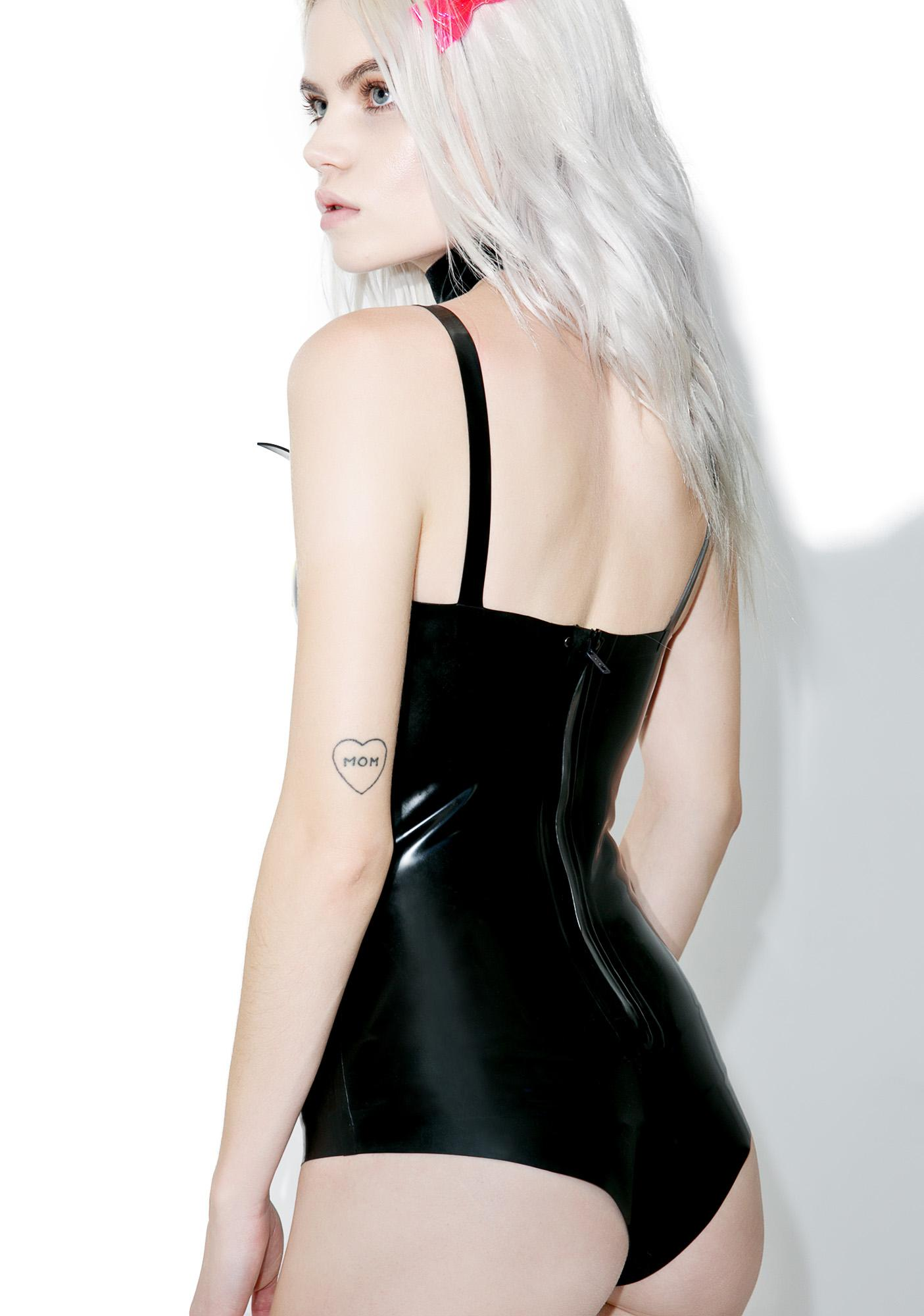 Jane Doe Latex Luna Leotard