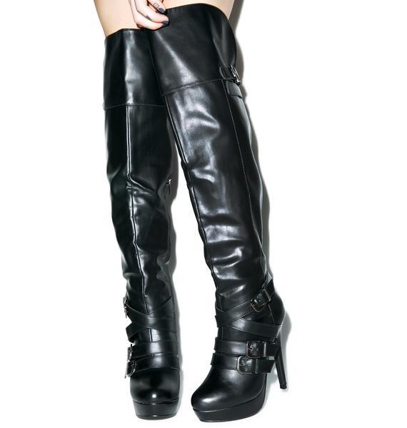 OMFG Thigh High Boots