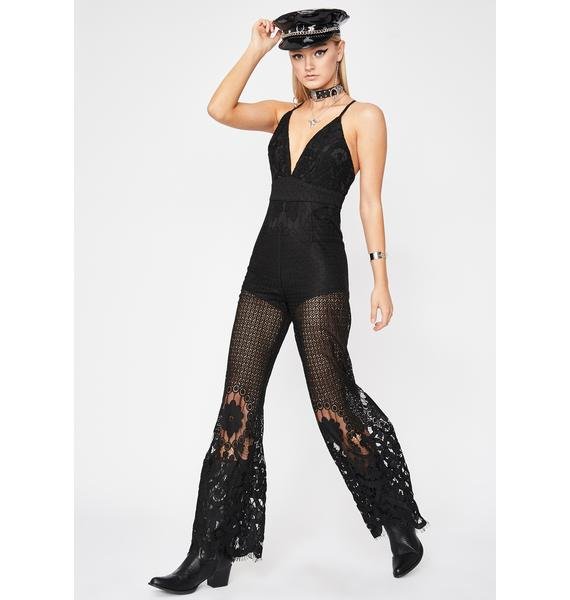 After Midnight Lace Jumpsuit