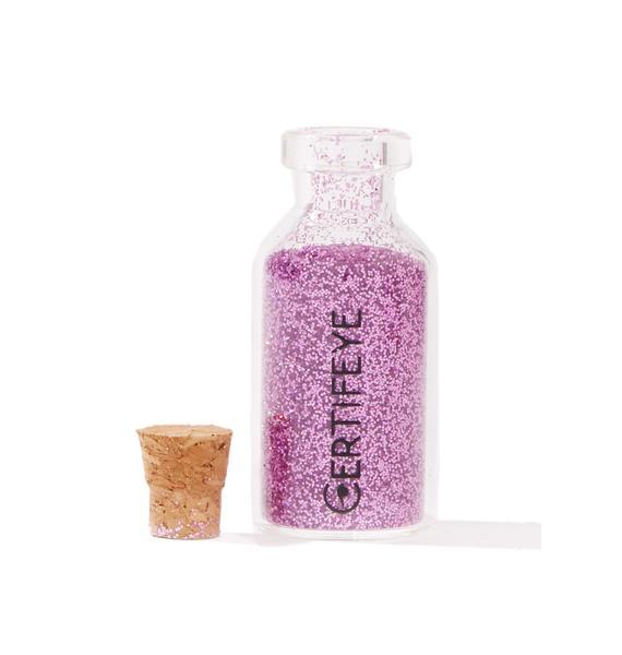 Certifeye Lilac Mini Glitter Bottle