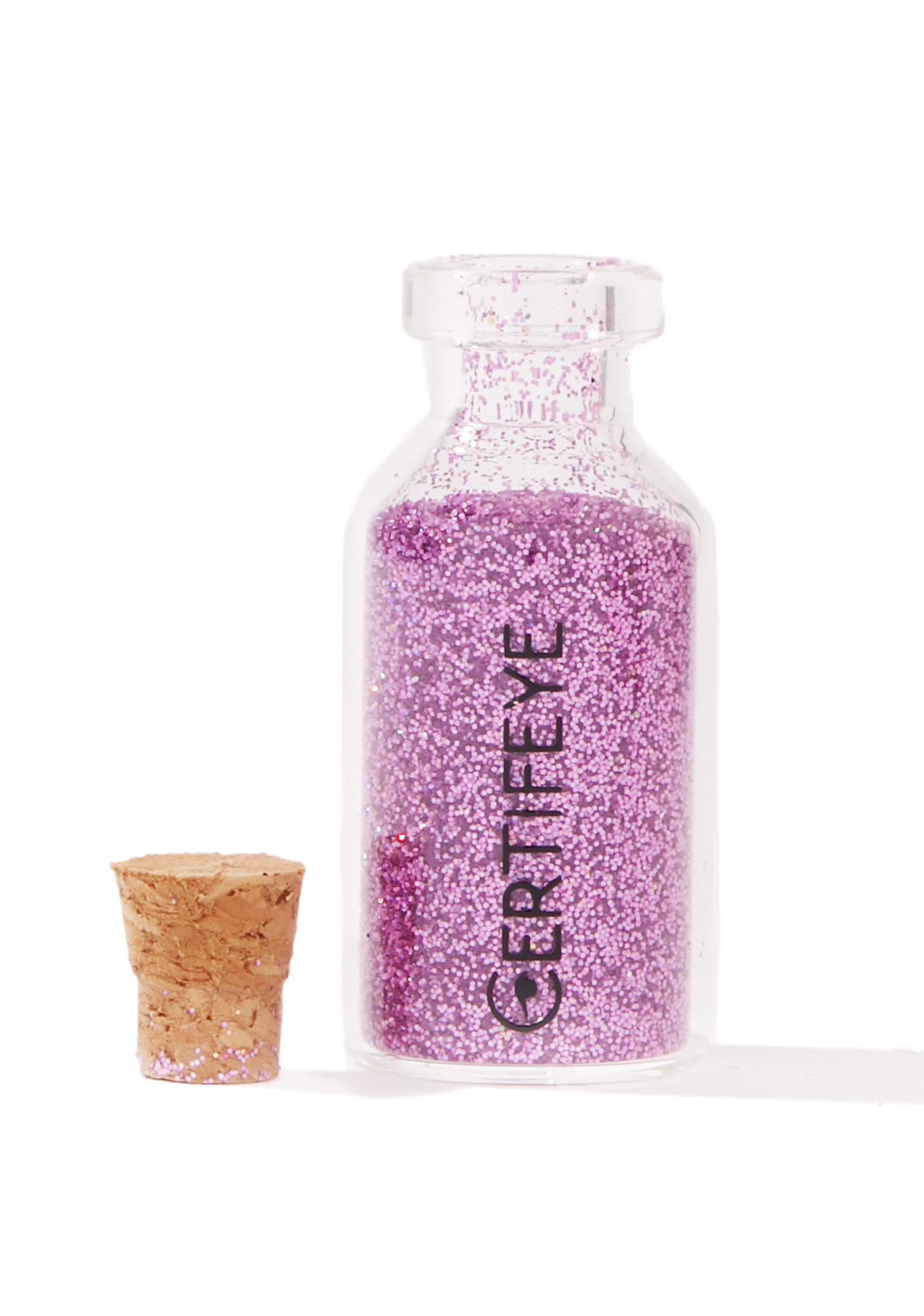 Certifeye Lilac Mini Glitter Bottle