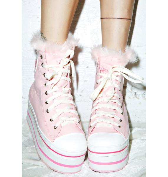 Y.R.U. Bubble Pop Elevation Sky Platform Sneakers